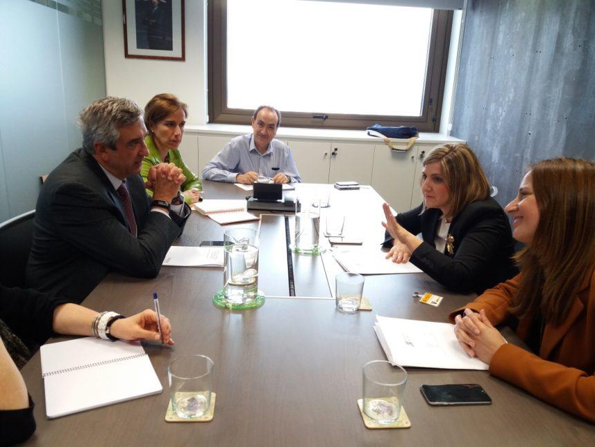 Reunión con la Administración Central en el Ministerio de Hacienda y Administraciones Públicas