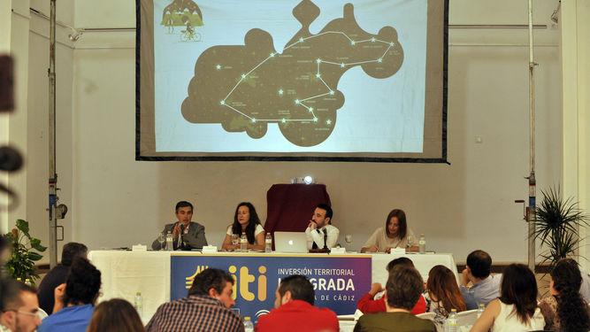 Presentación de la Estrategia de Turismo en Centro Cultural San Miguel (Arcos de la Frontera) / Ramón Aguilar