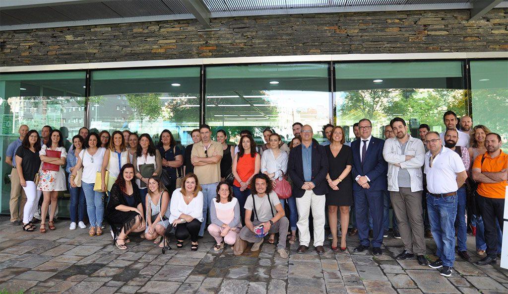 Asistentes Jornada de Presentación de Ayudas TIC entre Cámara de Comercio de Gibraltar y Diputación de Cádiz