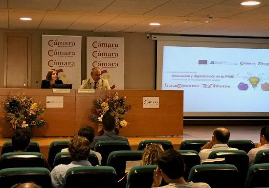 Incentivos a pymes 12/06/2017 Presentación en Jerez de los programas TIC Cámaras e Inno Cámaras.