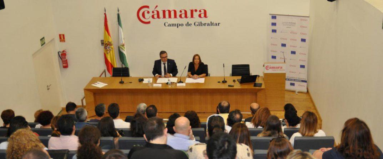 Cámara y Diputación presentan las ayudas TIC a un foro de un centenar de empresas
