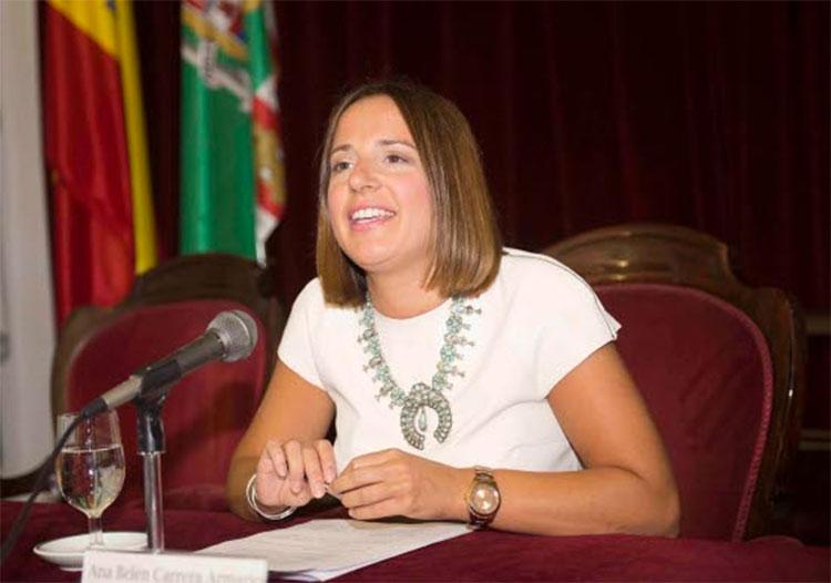 Ana Carrera en la Jornada Informativa sobre Ayudas de Eficiencia Energética