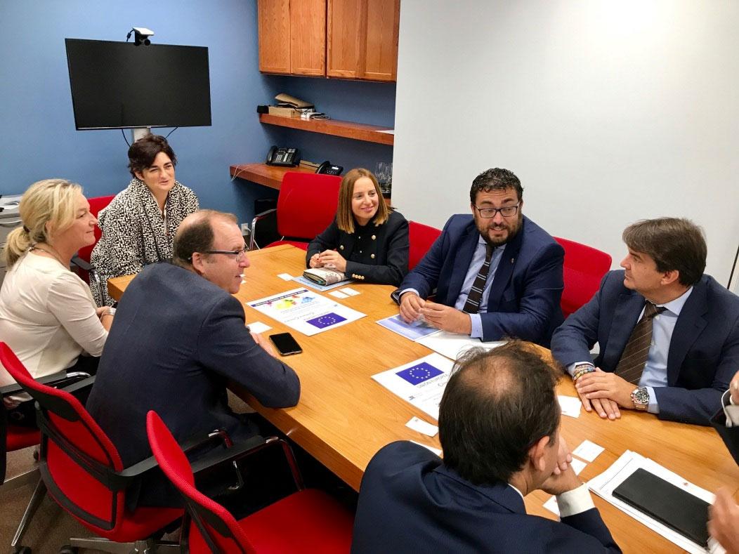 Reunión entre Diputación y Cámara de Comercio de Jerez en Canadá - Plan de Internacionalización de las PYMES
