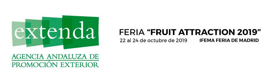 Feria Fruit Attraction 2019. 22 al 24 de octubre de 2019. IFEMA, Madrid