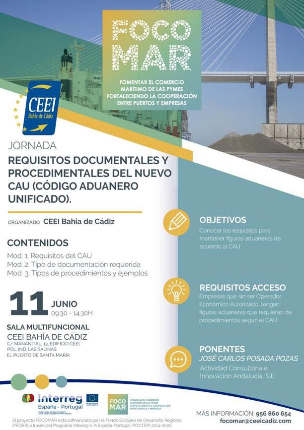 """Cartel Jornada """"Requisitos Documentales y Procedimentales del nuevo CAU"""""""