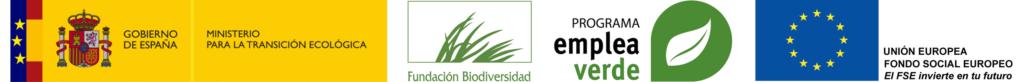 Logos institucionales Programa Empleaverde