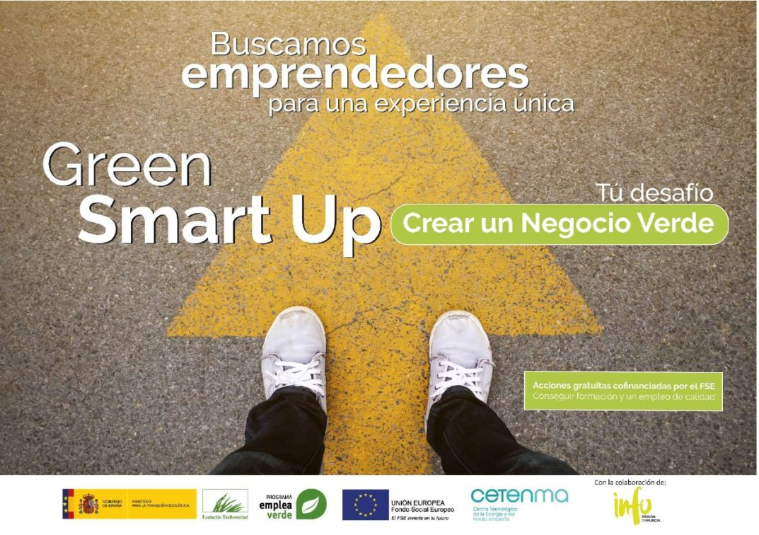 "Programa formativo gratuito ""Green Smart Up"" para emprender en Economía Digital"