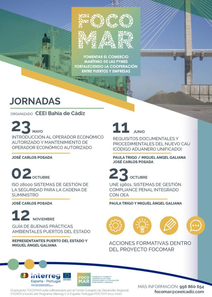 Jornadas FOCOMAR: Fomento del Comercio Marítimo de las Pymes Fortaleciendo la Cooperación entre Puertos y Empresas