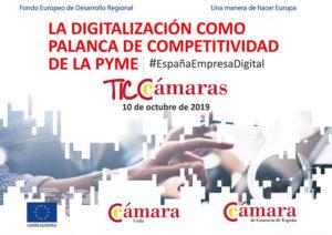 """Jornada """"La digitalización como palanca de competitividad de la pyme"""" @ Castillo de San Marcos."""