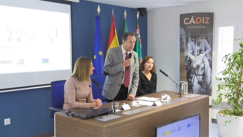"""Presentación del """"Sistema de Inteligencia Turística"""" de la Provincia de Cádiz, por José María Román, en Centro de Excelencia Profesional para el Turismo, la Hostelería y la Innovación, """"El Madrugador""""."""