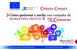 """JORNADA: """"CÓMO GESTIONAR Y MEDIR UNA CAMPAÑA DE MARKETING DIGITAL"""" @ Cámara Oficial de Comercio del Campo de Gibraltar"""