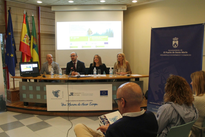 La Diputada de Empleo, Ana Carrera, presenta la 3ª Jornada de Capacitación Técnica EDUSI-ITICÁDIZ, organizadas por la Oficina de Información de la ITI de Cádiz, del IEDT.