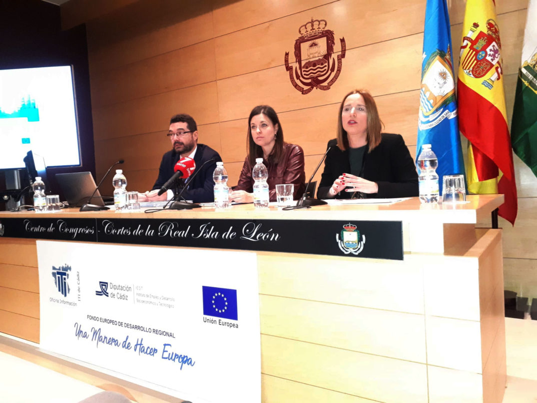 La Oficina de Información de la ITI de Diputación de Cádiz ofrece una nueva jornada de formación para técnicos de estrategias DUSI en San Fernando