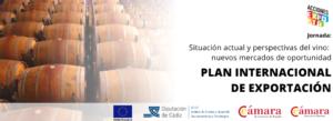 """Jornada: """"Situación actual y perspectivas del vino: nuevos mercados de oportunidad"""" @ Cámara de Comercio de Jerez de la Frontera"""