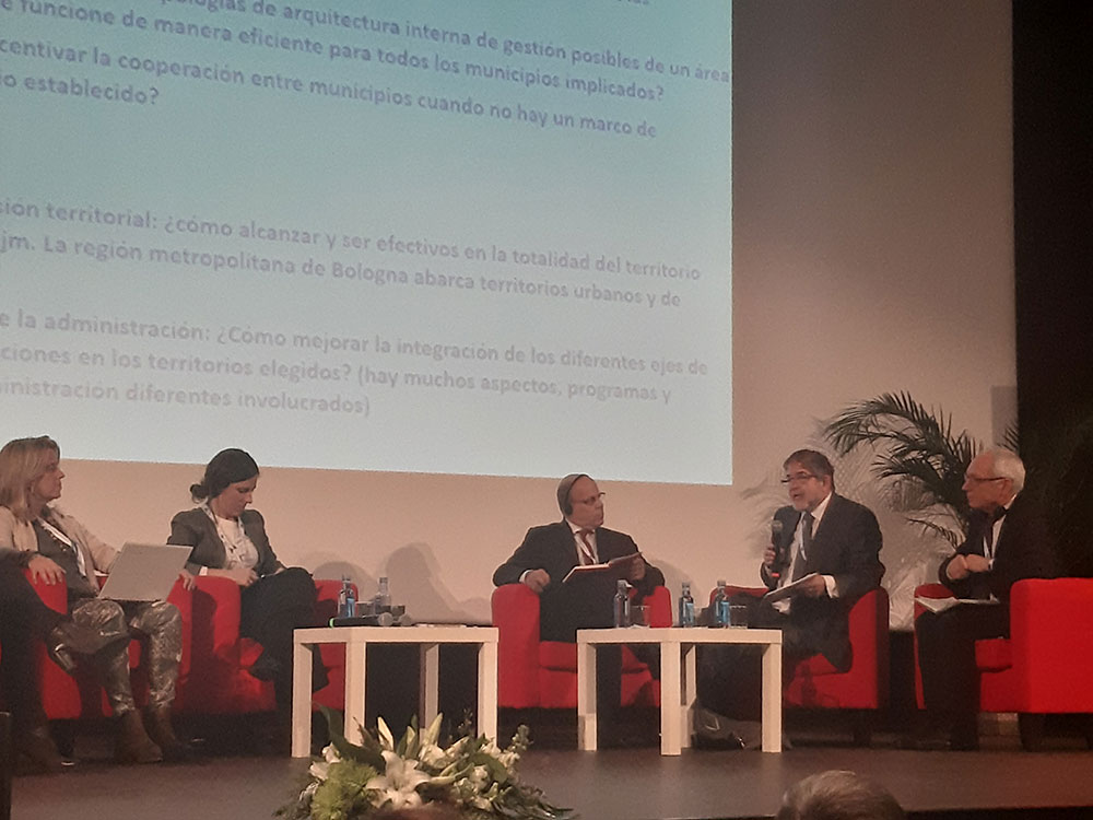 Jornada URBAN DEVELOPMENT NETWORK: Intervención de Anatolio Alonso Pardo, Subdirector General de FEDER de la Dirección General de Fondos Europeos del Ministerio de Hacienda.