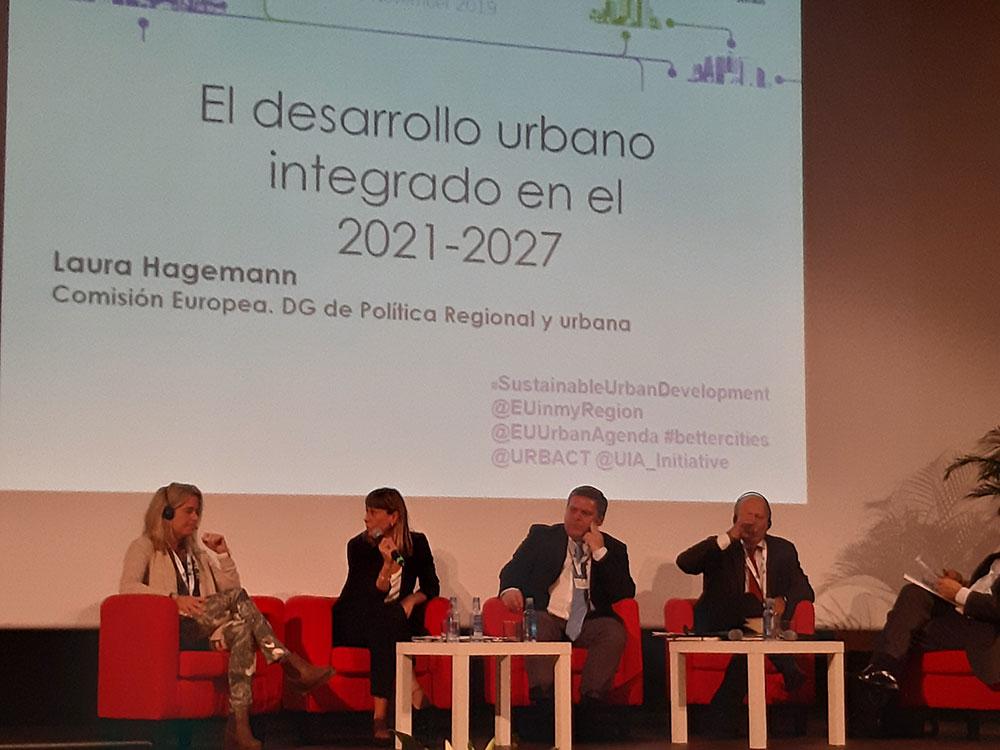 Jornada URBAN DEVELOPMENT NETWORK: Intervención de Laura Hagemann, Policy Officer de la Unidad de Crecimiento Inclusivo y Desarrollo Territorial de la DG REGIO de la Comisión Europea