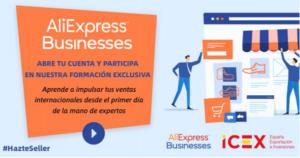 Jornada AliExpress Businesses en Algeciras: Expande tu negocio de la mano de expertos @ Dirección Provincial de Comercio e ICEX en Cádiz