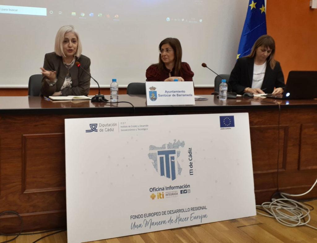 Ángeles Gayoso, vocal asesora de la Dirección General de Fondos Europeos del Ministerio de Hacienda y coordinadora en España de la comunicación de FEDER