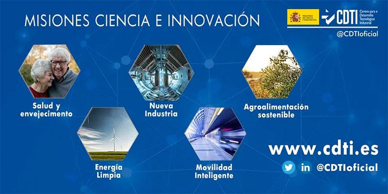 Misiones Ciencia e Innovación CDTI