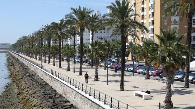 Barriada de La Paz, en Cádiz