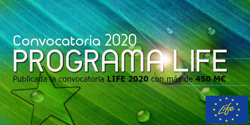 convocatoria-LIFE-2020-UE