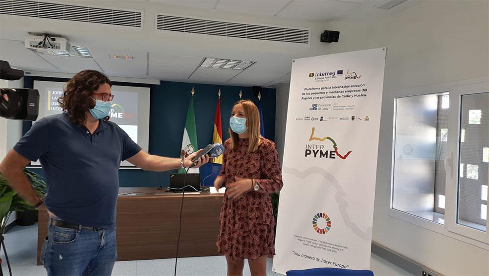 Intervención de Ana Carrera en Jornada de lanzamiento INTERPYME