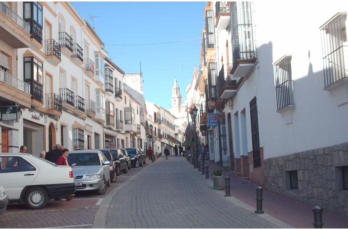 Calle Llana. Olvera.
