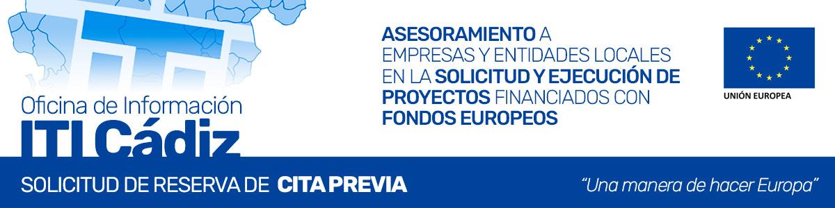 Solicitud de Reserva Cita Previa - Oficina de Información ITI de Cádiz