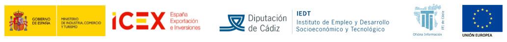 """Entidades participantes Webinar """"Productos y Servicios del ICEX para la Internacionalización de Empresas Gaditanas"""""""