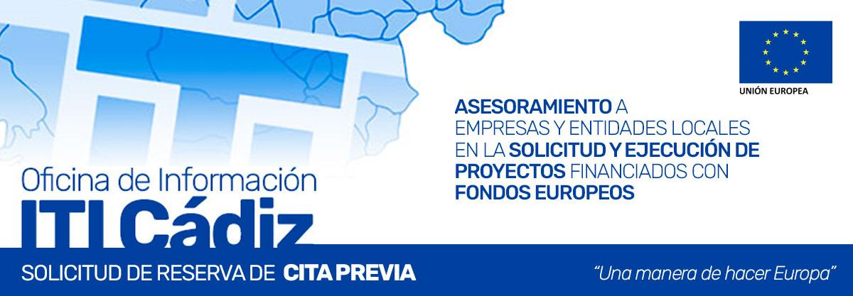Solicitud de Reserva de Cita Previa - Oficina de Información de la ITI de Cádiz