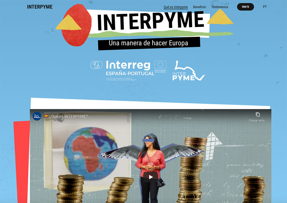 Landing Page Proyecto INTERPYME