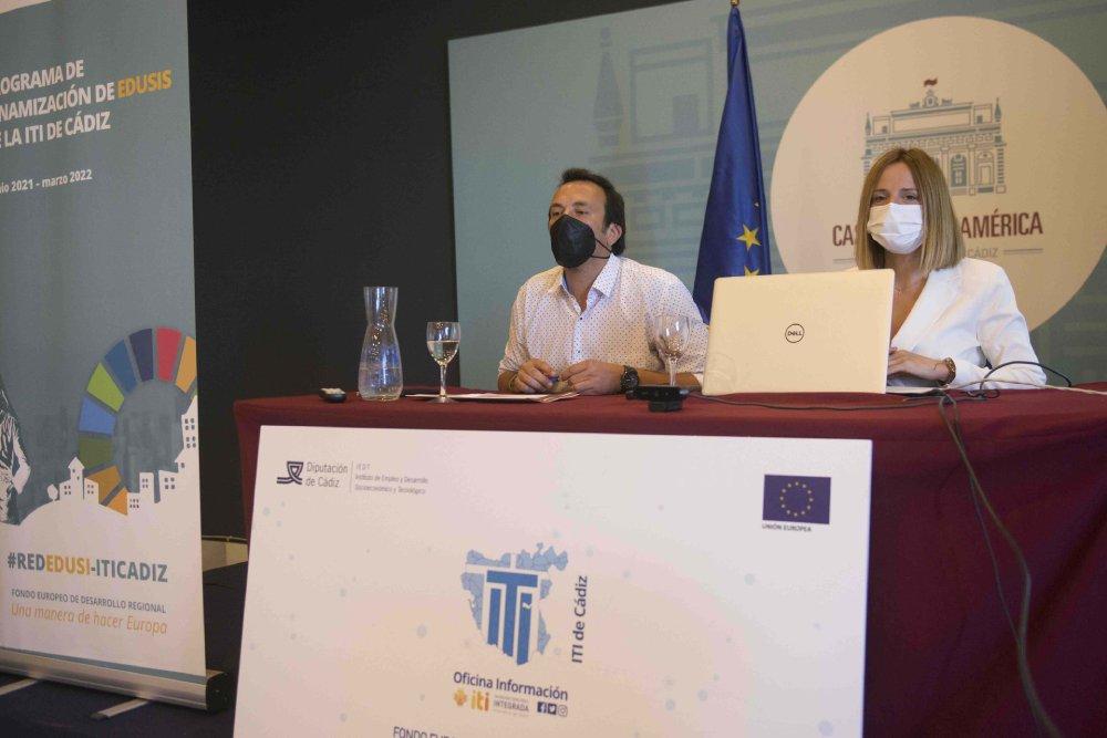 Ana Carrera y el Alcalde de Cádiz dan la bienvenida a las Unidades Técnicas de Gestión de las EDUSI de la Provincia de Cádiz