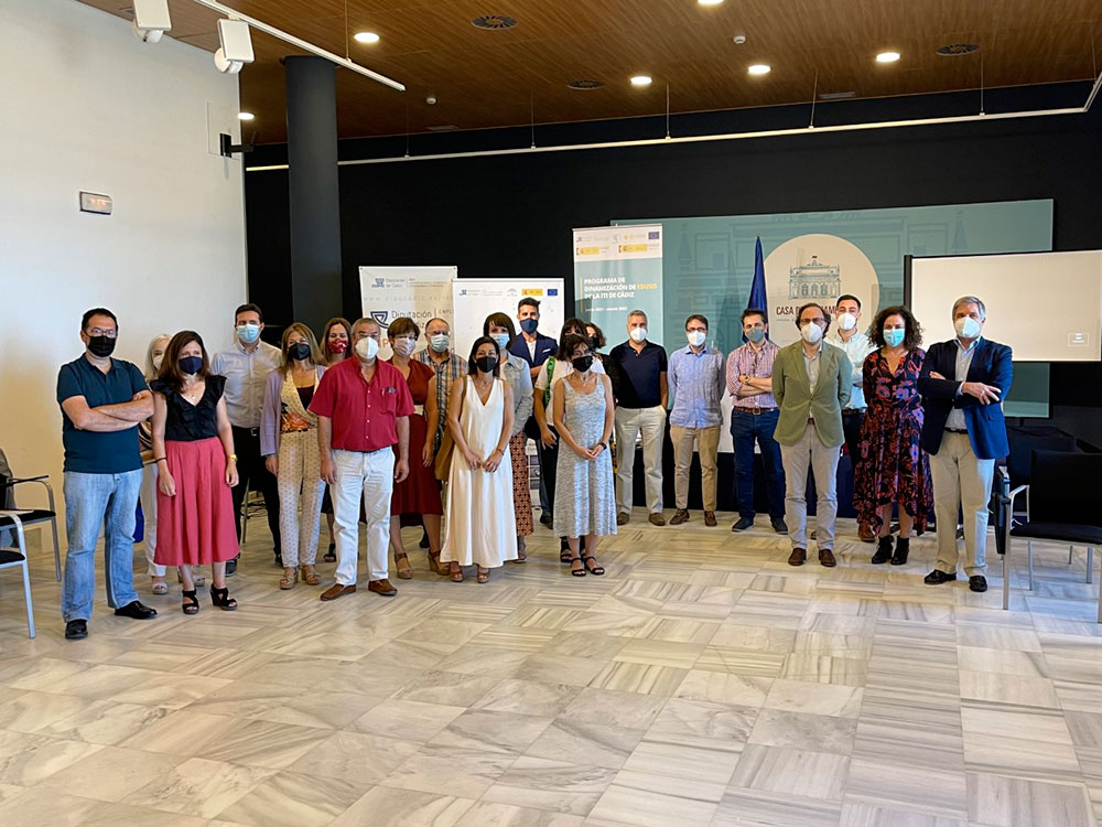 Asistentes 1er. Encuentro Red EDUSI Provincia de Cádiz