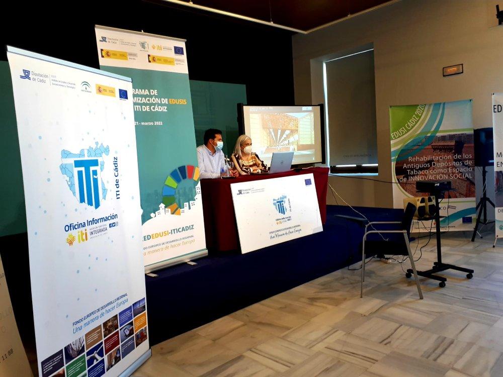 El Ayuntamiento de Cádiz, como anfitrión de este primer encuentro, ha presentado las actuaciones dentro de su estrategia