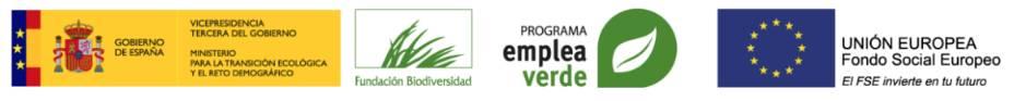 Entidades Convocatoria Programa EmpleaVerde Fundación Biodiversidad