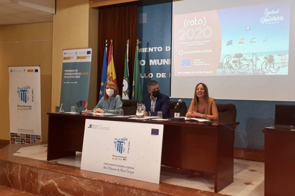 Intervención de Ana Carrera en 2º Encuentro Red de EDUSIs de la Provincia de Cádiz