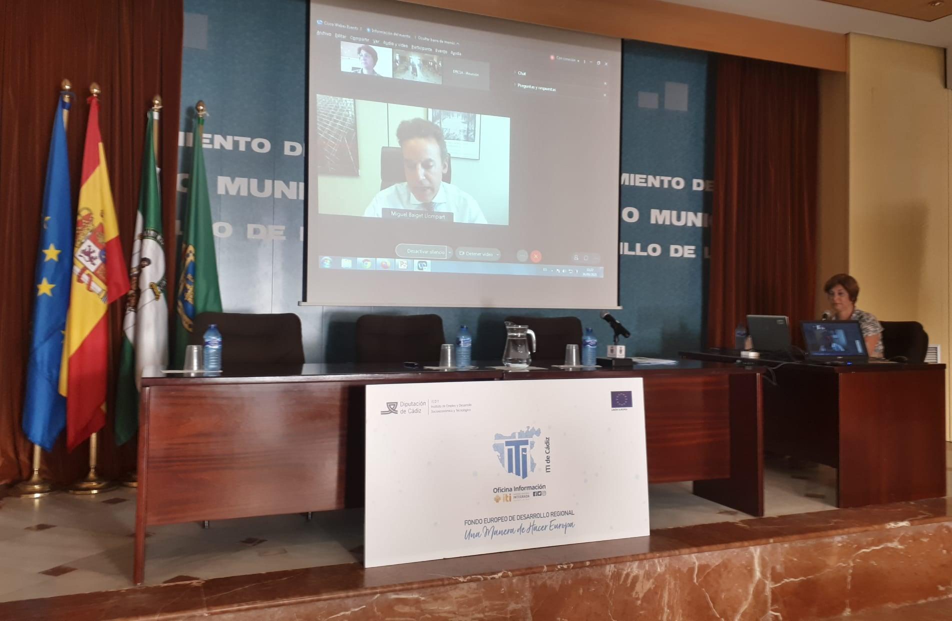 Intervención de Miguel Baiget Llompart en 2º Encuentro Red de EDUSIs de la Provincia de Cádiz